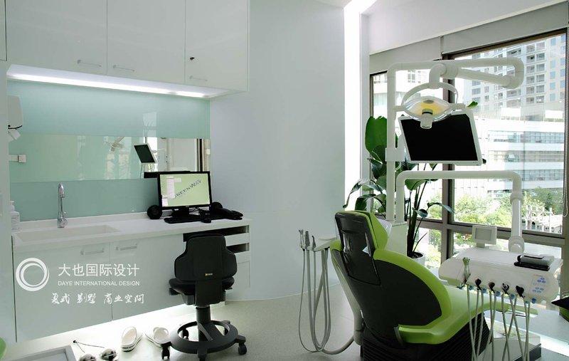 装修效果图,格维牙科诊所装修案例效果图 齐家装修网高清图片