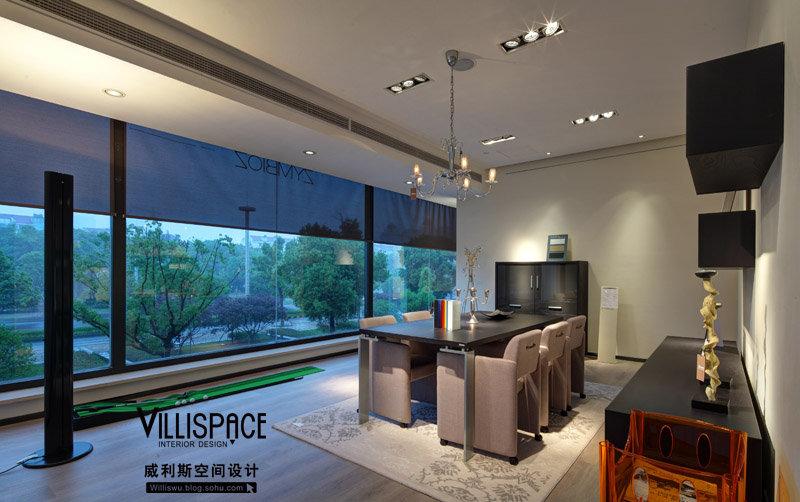 装修效果图,苏州1000平米展厅设计装修案例效果图 齐家装修网