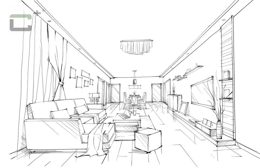 新手画眉毛的步骤图片,室内设计手绘班,客厅装饰效果图手绘,马克笔