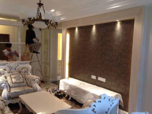 两房欧式简装装修效果图,室内设计效果图-齐家装修网图片