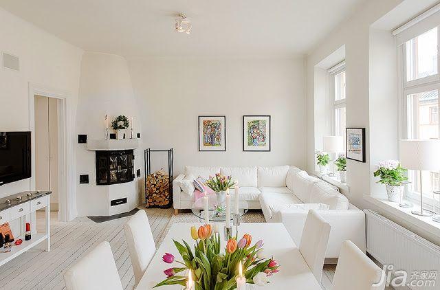58平小户型公寓室内装修设计图片