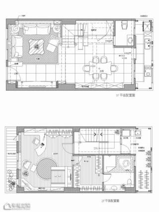 新古典风格别墅唯美设计图