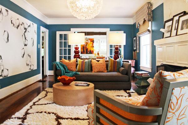 节省空间新方案 30图小户型客厅设计3/30