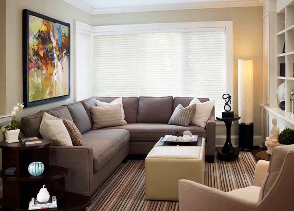 节省空间新方案 30图小户型客厅设计9/30