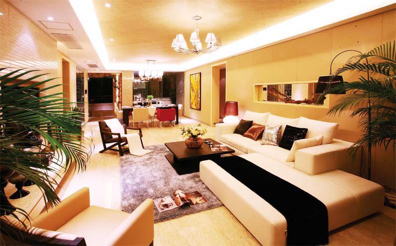 节省空间新方案 30图小户型客厅设计10/30