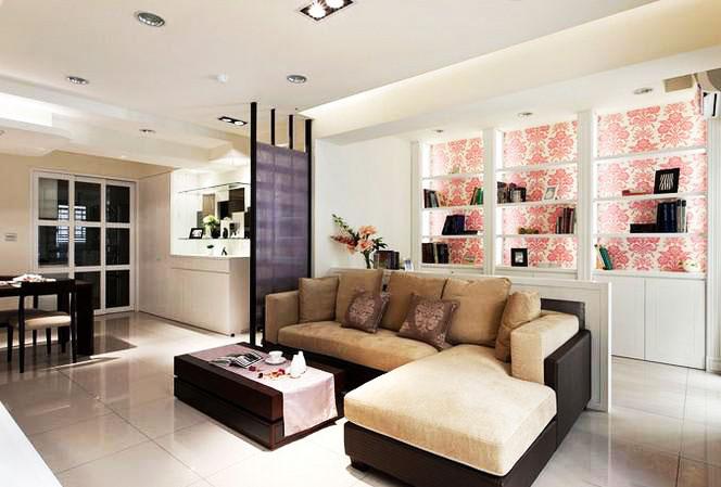 节省空间新方案 30图小户型客厅设计30/30