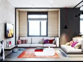 节省空间新方案 30图小户型客厅设计