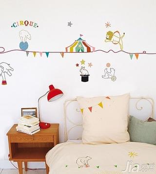 儿童房手绘墙画为孩子增添