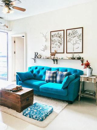 宜家风格简洁客厅宜家沙发图片