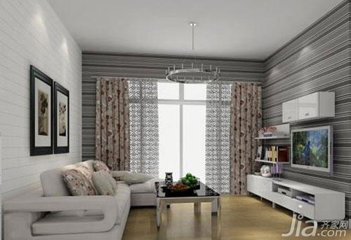 小而精彩 小客厅电视墙效果图