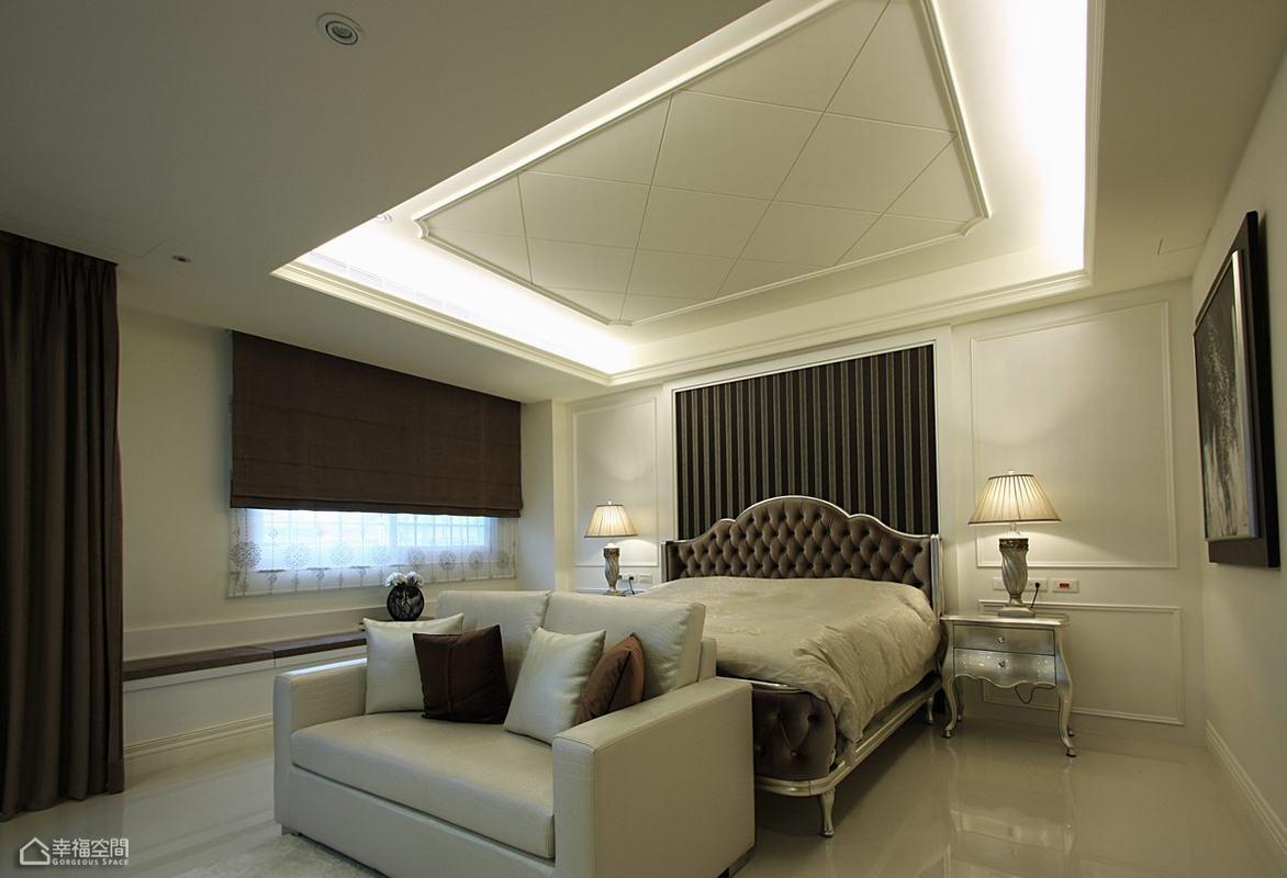 美式风格别墅豪华卧室装修效果图
