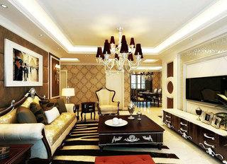 欧式风格奢华欧式客厅装修