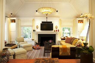 欧式风格欧式客厅欧式电视背景墙装修图片