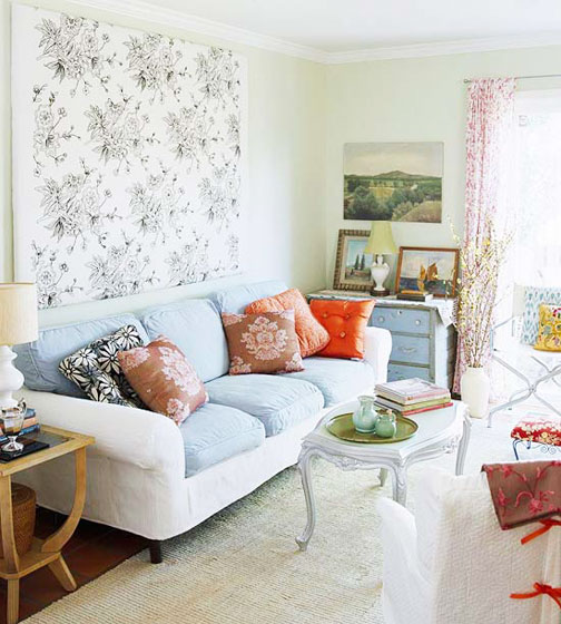 欧式风格简洁欧式客厅装修效果图