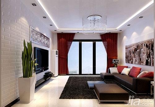 家装客厅效果图,家装客厅吊顶效果图
