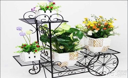 【阳台花架】阳台花园装修效果图图片