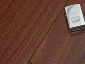 圓盤豆實木地板 桔/翠色寬板實木地板