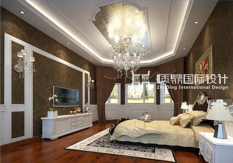 20万以上欧式别墅装修效果图,自建小洋房 别墅 欧式风格装修案例效高清图片
