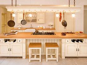 用灯光制造浪漫 20图唯美厨房欣赏
