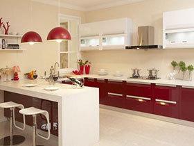19款欧式L型厨房 庄重气质设计