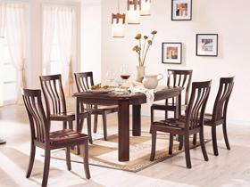 简约而不简单餐桌椅家具