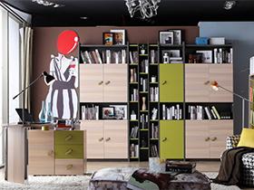 时尚温馨小白领的书房