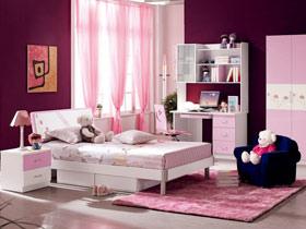 甜蜜唯美 5款浪漫儿童房设计