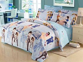 7種卡通全棉床單四件套  浪漫可愛