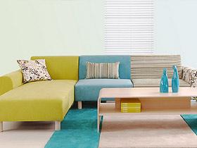 颜色多款式多的布艺沙发 你喜欢哪种