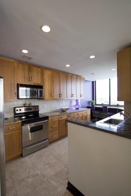 厨房装修效果图大全2014图片