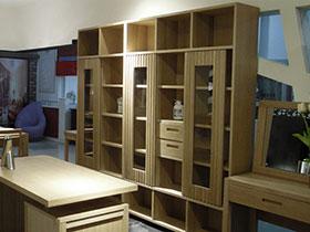 现代时尚书房设计 感受现代中式风