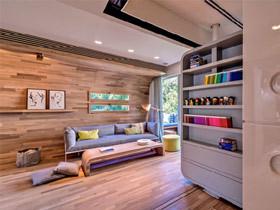 6图展现空间可大可小的家具搭配