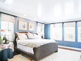 藍調地中海臥室 14款最美臥室設計圖
