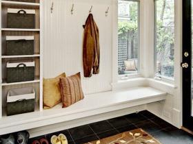 12款欧式玄关柜 装点最实用玄关