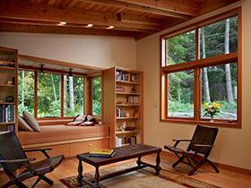15款原木風飄窗  帶你回歸大自然