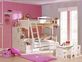 活力简欧风双层儿童房设计 二胎家庭必看