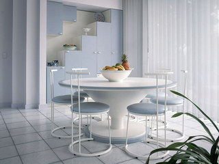 小清新白色家具图片