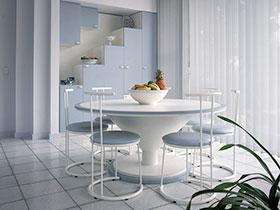 白色家具圖片 讓家更加純凈整潔