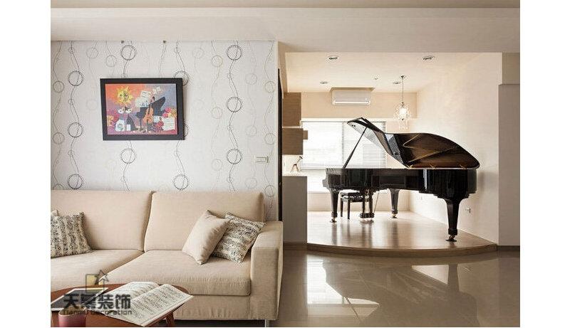 宜家时尚居装修效果图,室内设计效果图 齐家装修网高清图片