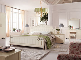 浪漫白色家具  給你一個干凈整潔的家