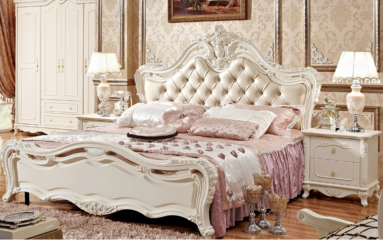 歐式傳統風情臥室系列圖片