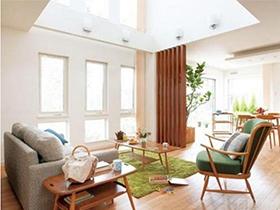 大气古朴自然的客厅沙发