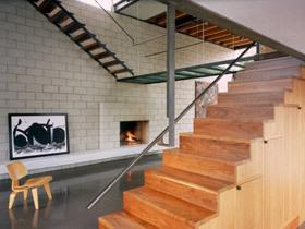 呼吸自然的气息 14个实木楼梯设计