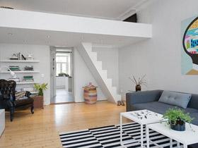 白色楼梯的魅力 15个受欢迎的白色楼梯