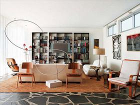 简约现代时尚黑色书房 8图展示英朗风格
