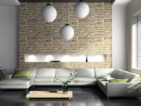 简约客厅灯具设计效果图