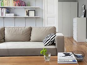 珊瑚灰布艺沙发设计效果图