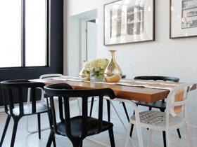 小餐廳更有溫馨感 17個簡約小餐廳設計