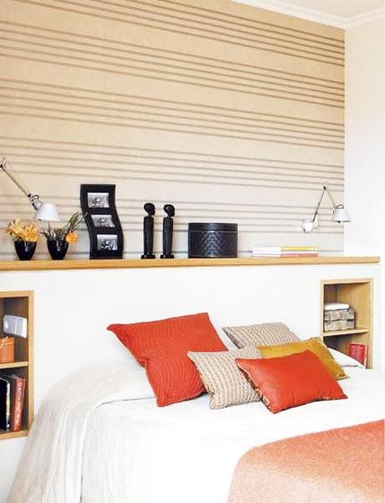 废弃木板装点床头 18款实用型卧室_齐家网装修效果图图片