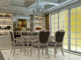 華麗水晶吊燈點綴 19款奢華歐式餐廳